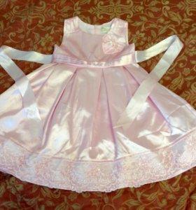 Платье нарядное для девочки, р. 104