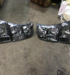 Диодные фонари Lexus RX 300/330/350