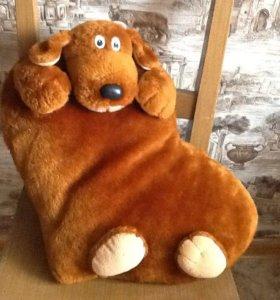 Мягкая игрушка. Собака-подушка