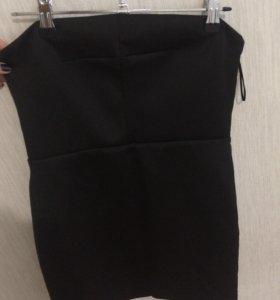 вечернее короткое платье TopShop s/m