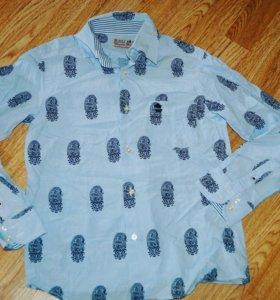 Фирменные рубашки куртки 10-15 лет шорты толстовки