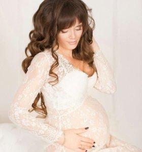 Платье для беременных 42-52