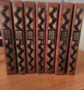 Продам книги Джеймс Фэнимор Купер 7 частей