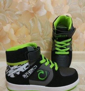 Новые ботинки кеды стелька 20 см
