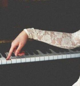 Уроки Вокала, музыки, фортепиано, синтезатор