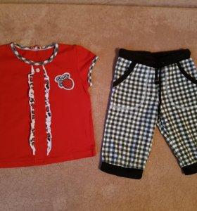 Комплекты Pelican (футболка и штаны)