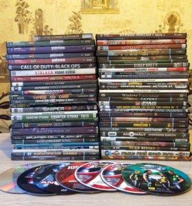 Коллекция игр для пк 63 шт