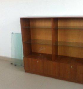 Витрина +шкаф