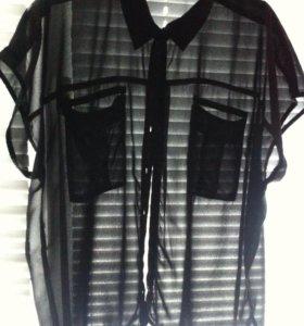 Шифоновая рубашка bikbok