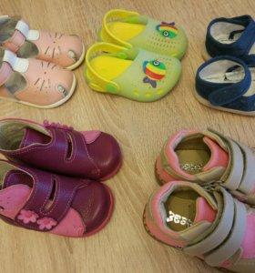 Обувь на девочку 18,19 размер