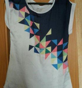 Футболка-блуза