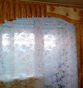 Ламбрикен с односторонней шторой