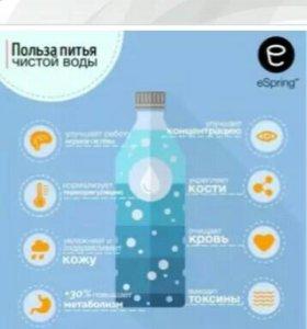 очистки воды (с подключением к дополнительному кра