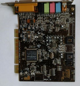 Звуковая карта PCI Sound Blaster live 5.1 Digital