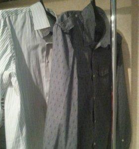 Рубашки мужские р L