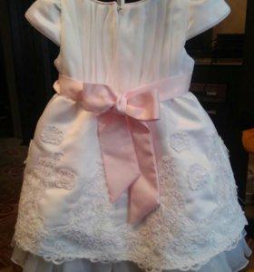 Платье для малентких принцесс