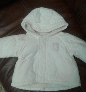 Детская курточка mathercare.