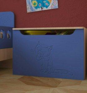 Новый ящик для игрушек