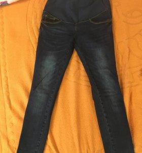 Новые джинсы для будущих мам, животик регулируется