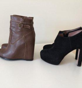 Две пары обуви 37