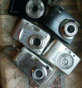 Фотоаппараты на зап.части