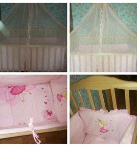 Детская кровать качалка.
