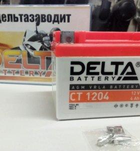 New АКБ Delta 12v4Ah