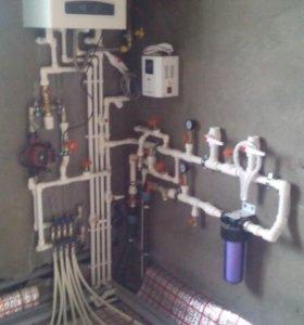 Отопление водопровод сантехника