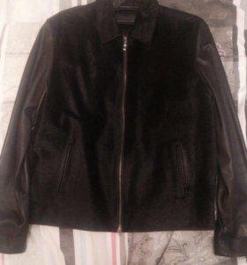 Куртка кожаная Leonardo