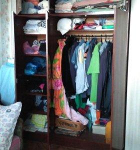Шкаф для одежды и диван