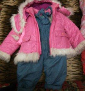 Зимний костюм, 1-3 года
