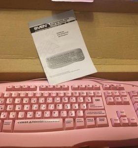 """Клавиатура """"для блондинок"""""""