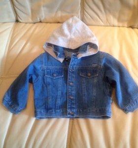 Джинсовая курточка р.80