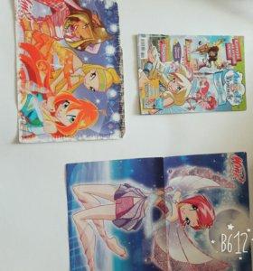 """Плакаты """"Винкс"""" и Журнал """"Друзья Ангелы"""""""