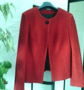 Пальто-пиджак укороченный
