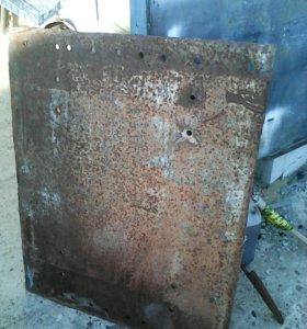 Плита под седло, на седельный тягач толщина 10 мм