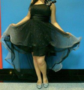 Вечернее платье для выпускного, клатч в подарок