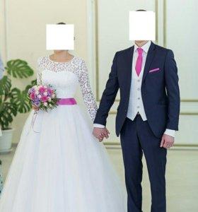 Прекрасное Свадебное платье!)
