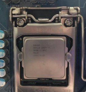 Intel core I 5 2400+ материнка