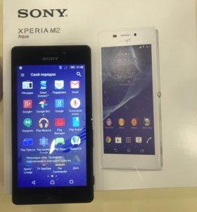 Продам смартфон Sony M2 Aqua