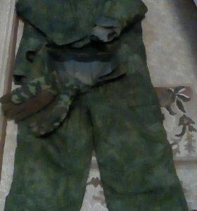 Бушлат,штаны, перчатки зимние нового образца два к