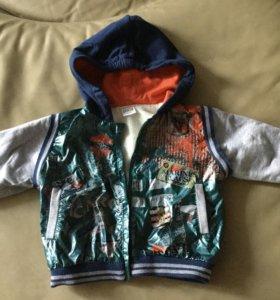 Куртка-бомбер 86-92 см