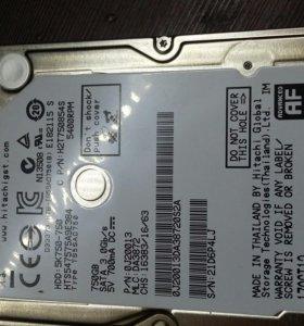 """Жесткий диск для ноутбука 750 гб 2.5"""""""