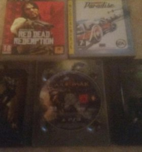 PS3 | Red Dead/God of war III/Burnout Paradise
