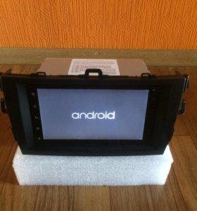 Автомагнитола Toyota Corolla 150 Android.