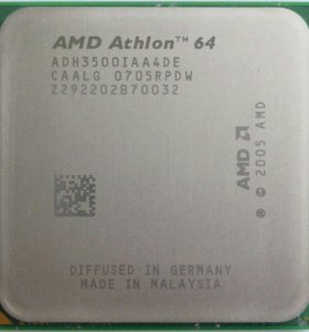 Процессор AMD Athlon 64 3500+(R2200 512KB 1000MHz)