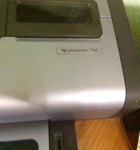 Принтер цветной hp 7760 в хорошем состоянии