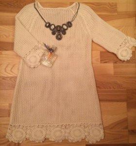 👗Вязанное платье