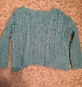Укорочённый свитер Benetton