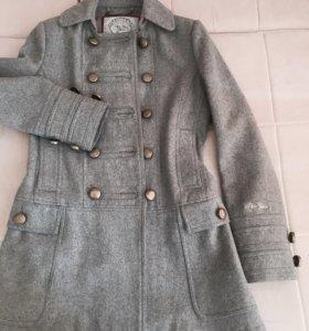Осеннее пальто-бушлат Pepe Jeans